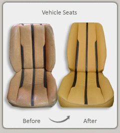leather repair and vinyl upholstery repairs in Jefferson City MO call 573-207-3323